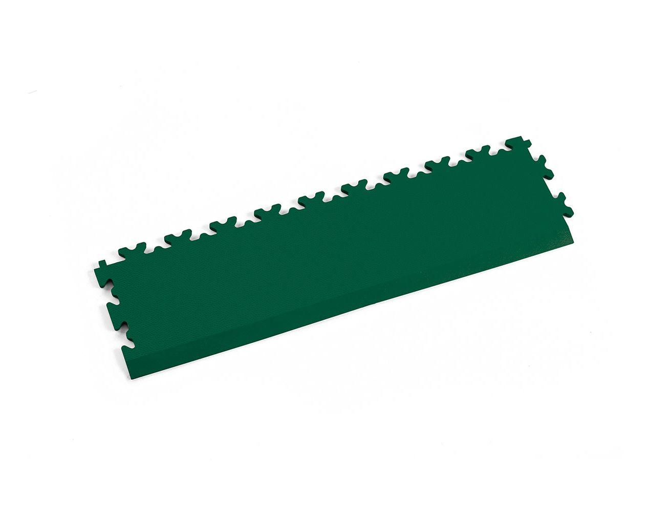 Rampe Leder Grün