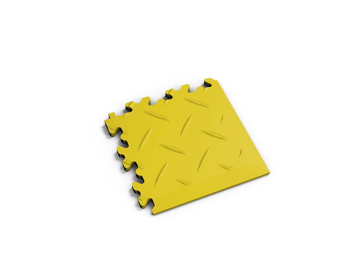 Ecke Diamant Gelb