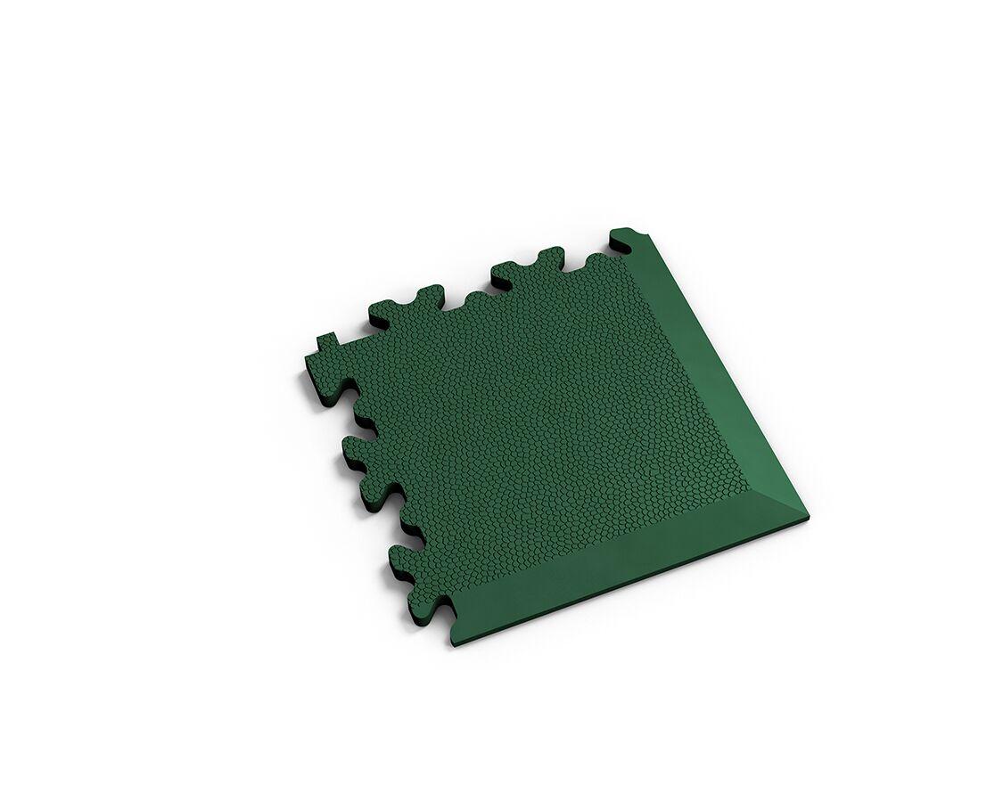Ecke Leder Grün