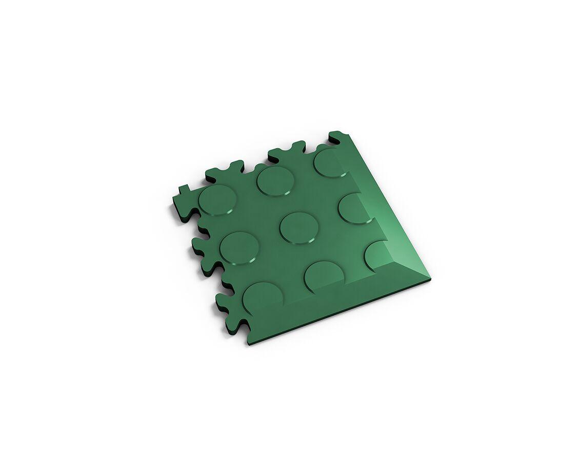 Ecke Coins Grün