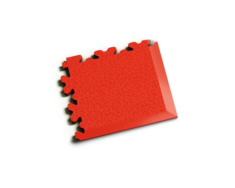 Ecke XL Leder Rot