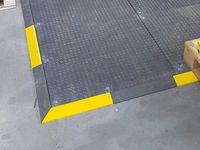 Heavy Rampe 43 mm obenliegend gelb