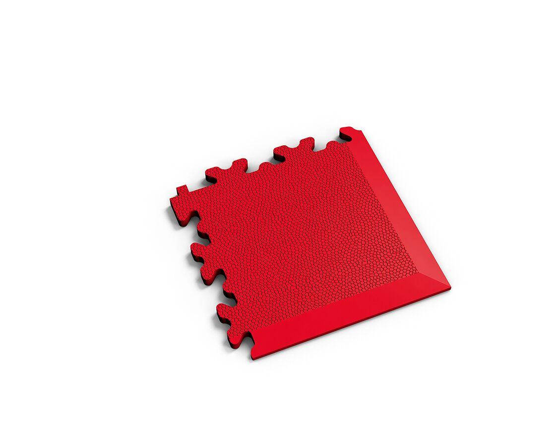 Ecke Leder Rot