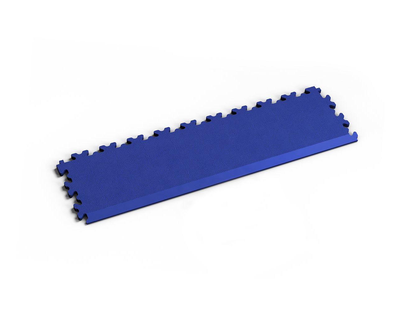 Rampe Leder Blau