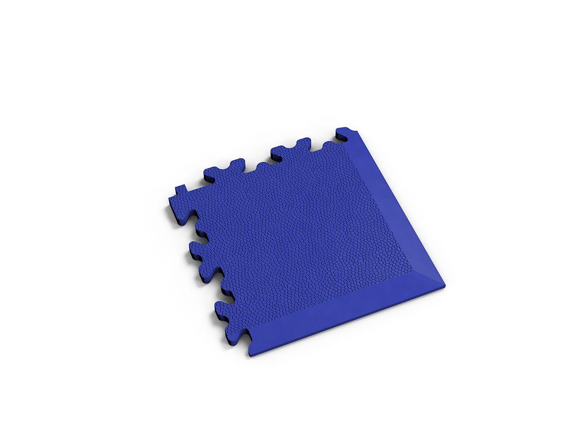 Ecke Leder Blau