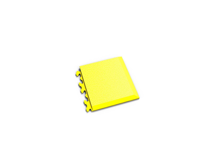 Ecke Invisible Leder Gelb