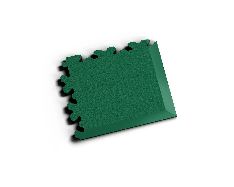 Ecke XL Leder Grün